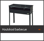 Houtskool barbeque